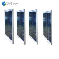 4Pcs Lot 12v Solar Panel 50W Photovatic Panel 200W Chargeur Solaire Telephone Solar Tuinverlichting Camping Car
