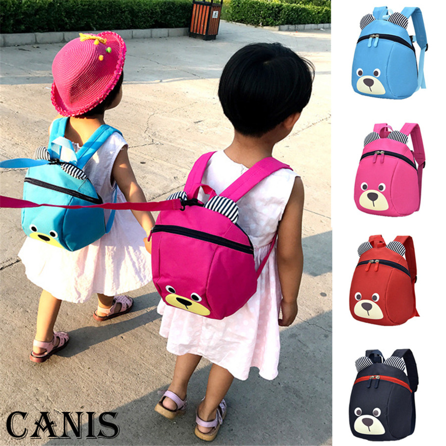 Kids Baby School Bags Cute Backpack Walking Safety Harness Reins Toddler Strap Bag Backpack Anti-lost For Girl Boy
