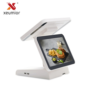 Бесплатное программное обеспечение SDK 12 двойной Экран Сенсорный экран Pos Системы Android Tablet PC кассовых машин Поддержка Wi Fi Bluetooth Камера