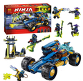 386 pcs 2016 Bela 10396 Ninja Jay Walker de blocos tijolos Minifigures brinquedos figuras crianças educação compatível com Legoe