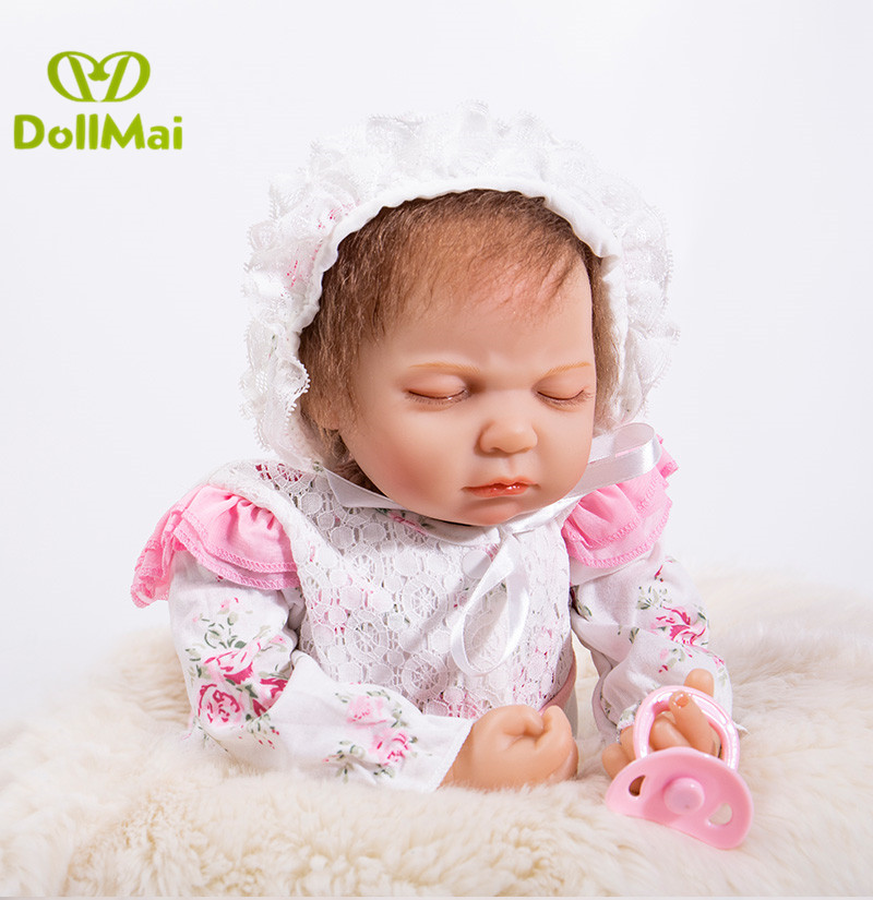 Bebes Reborn 22inch Soft Silicone Vinyl Dolls reborn babies alive 53cm fashion child gift Newborn girl dolls toysBebes Reborn 22inch Soft Silicone Vinyl Dolls reborn babies alive 53cm fashion child gift Newborn girl dolls toys