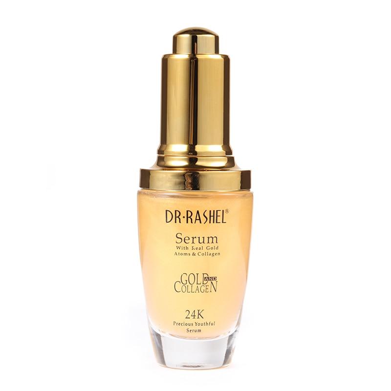 Real Gold Atom colagen elastină ser anti-îmbătrânire îmbătrânire ser de hidratare Acnee Tratament Whitening Face Ageless îngrijire a pielii
