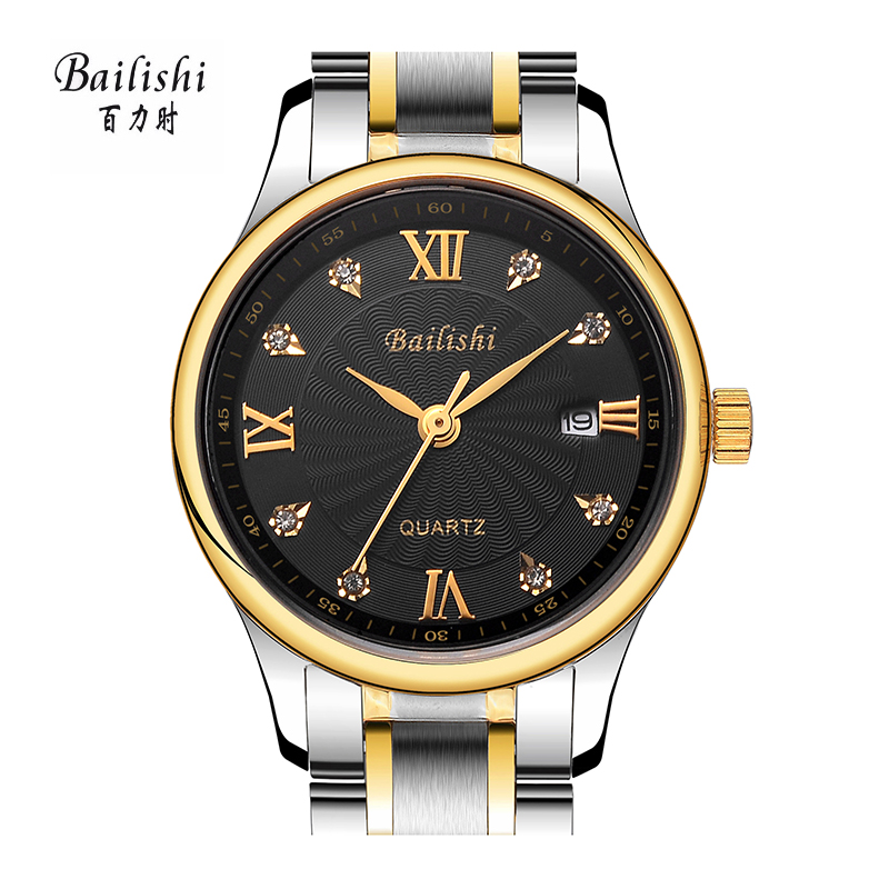 BAILISHI fashion women watch Diamonds Hour Waterproof Stainless Steel Sports Wrist Watch Male Relogio quartz ladies watches bailishi top luxury brand men watches diamonds hour stainless steel sports wrist watch male causal quartz male watch waterproof
