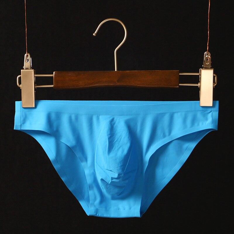 Image 2 - 5pcs Men Seamless Underwear Sexy Men Briefs Underpants Man Cueca Masculina U Pouch Male Panties Gay Underwear Ropa Pants GX001-in Briefs from Underwear & Sleepwears