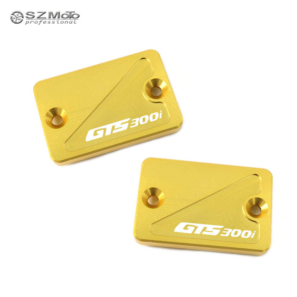 For <font><b>SYM</b></font> CRUISYM GTS300i GTS <font><b>300i</b></font> 2017-2018 Front Rear Brake Master Cylinder Fluid Reservoir Cover Cap Motorcycle Accessories image
