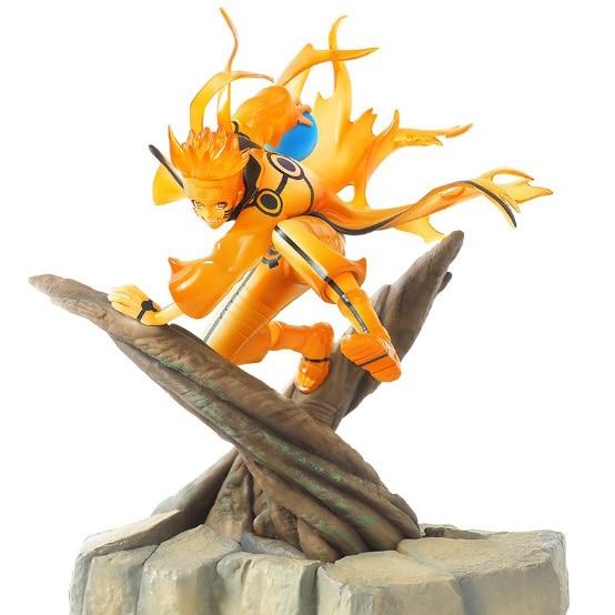 25cm Naruto Action Figure Uzumaki Naruto Figure Toy Anime Naruto Shippuden Movie Model Toy Naruto Rasengan kyuubi Kurama
