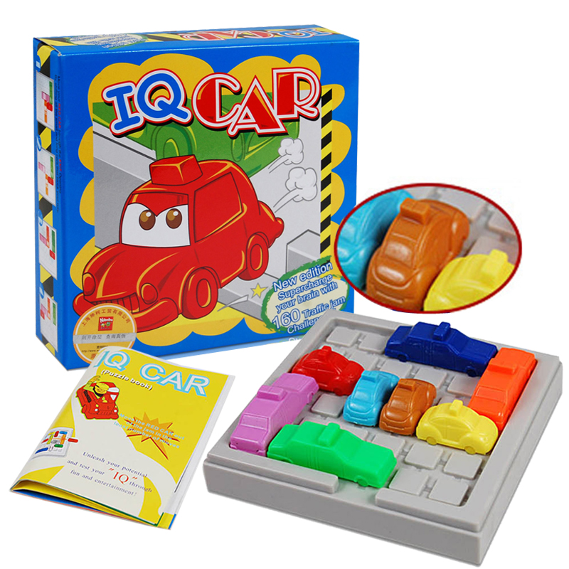 Klassisk Kreativt IQ-puslespill Mind Brain Teaser Kids Logic - Puslespill - Bilde 2