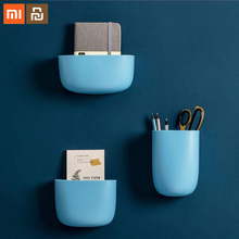 3Pcs/Set Xiaomi Mijia Wall-mounted Storage Boxes Simple Wall Nail or Paste To The Smart Home