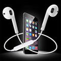 New S6 Wireless Bluetooth Mini Earphones Stereo Earphone with Mic Sports Earbuds for iphone7 Samsung Galaxy S7 Xiaomi Meizu
