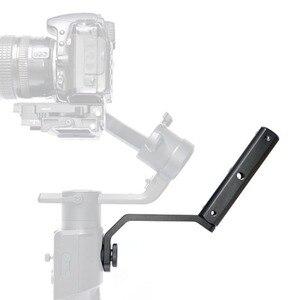"""Image 5 - กลับแบบพกพาขยายแขนยึด 1/4 """"สกรูสำหรับMOZA Air2 Gimbalสำหรับกล้องวิดีโออุปกรณ์เสริมMic"""