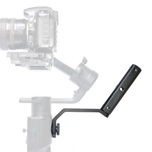 """Image 5 - Back Portable Extension Arm Bracket with 1/4"""" Screw Mount for MOZA Air2 Gimbal for Video Light Mic Accessories"""