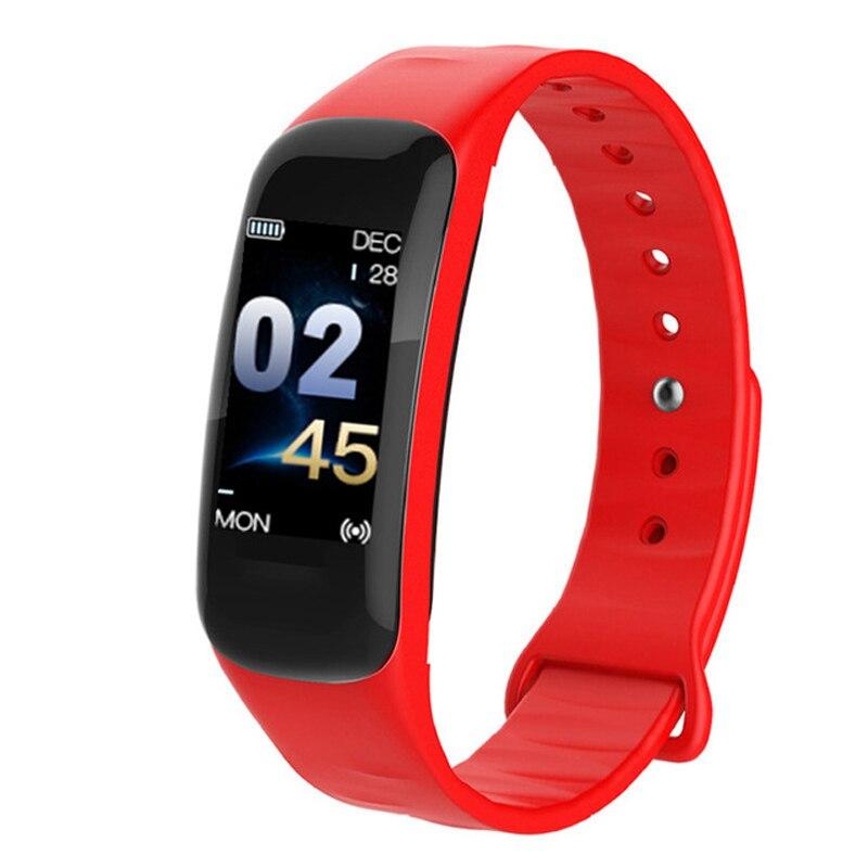 KESHUYOU sport smart bracelet fitness tracker watch C1plus activity tracker heart rate monitor fitness band blood pressure цены