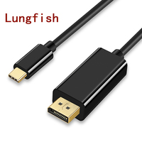 Lungfish DP To TYPE C USB 3 1 C To Display Port 4K 60HZ HDTV Adapter