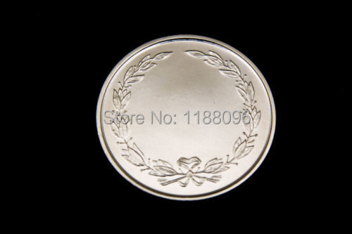 Whole Custom Wedding Coin Personalised Engraved Coins Hot S Made Silver Round