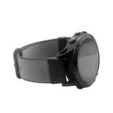 MASiKEN Substituição Quick Release Nylon Tecido Pulseira para Garmin Fenix 5/Forerunner 935/Abordagem S60 GPS Relógio De Pulso cinta
