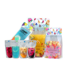 Hoomall 10PCs 500ML Portable Storage Durable Self Sealing Beverage Pouch Drink Matte Milk Plastic Juice Liquid Packaging Bags(China)