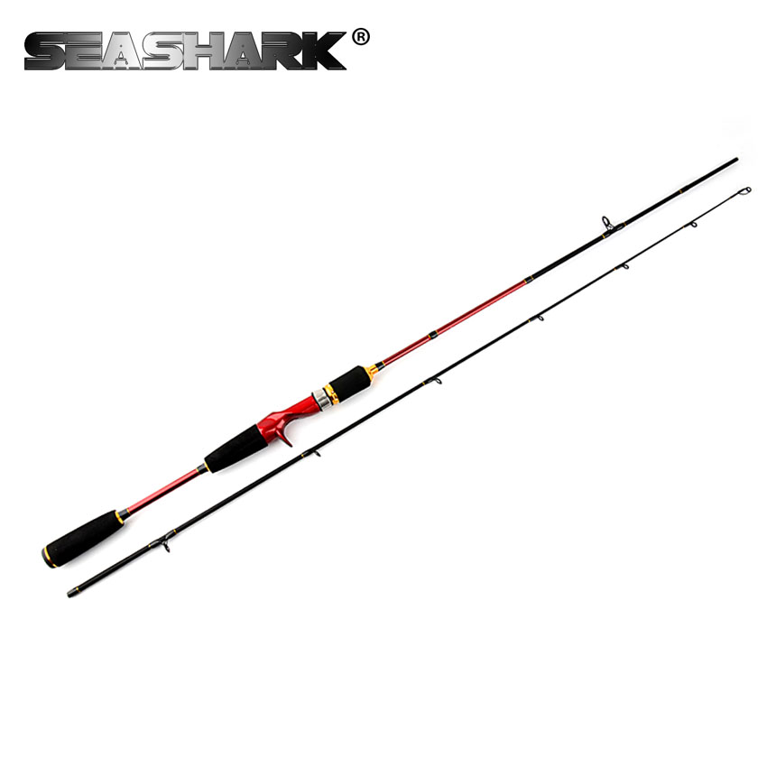 SEASHARK Carbon Bait Lure Spinning Rod Castting Rod 2 Section Line Weight 5-14lb Lure Weight 7-25g Baitcasting Fishing Rod top quality brave fresh water spinning rod 1 98m ml lure rod lure weight 2 15g line weight 4 12lb 98% carbon fishing rod