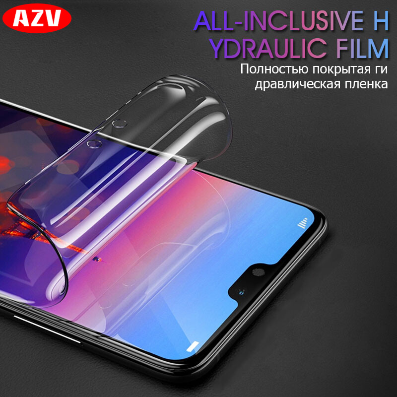 <font><b>5D</b></font> Full Cover Soft Hydrogel Film For <font><b>Huawei</b></font> P10 P20 Lite Pro P10 Plus Screen Protector On For <font><b>Huawei</b></font> <font><b>Honor</b></font> 10 <font><b>9</b></font> 8 Lite Not <font><b>Glass</b></font> image
