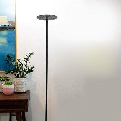 moderna lampada de assoalho led pe alto para sala estar luminaria quarto lampada pe decoracao