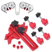 beler Dual Cam Clamp Camshaft Engine Timing Sprocket Gear Locking Tool Kit Set For VW Ford Suzuki Toyota Audi Mazda Hyundai BMW
