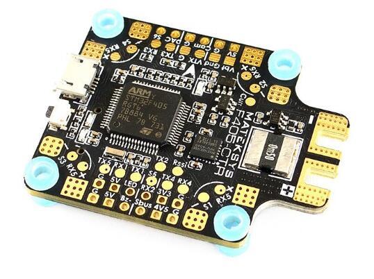 Matek Systems BetaFlight F405-CTR F405 CTR Flight Controller Built-in PDB OSD 5V/2A BEC Current Sensor For RC Multicopter