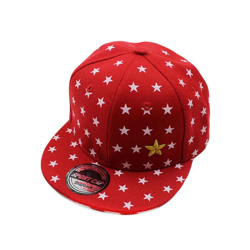 ea4a008c51776 ... miaoxi New High Quality Child Hip Hop Cap Boys Summer Baseball Caps  Girl Star Adjustable Children ...