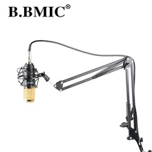 Professional MIC BM 800 BM800 Condenser Cardioid Pro Audio Studio Vocal Recording Microphone B800 KTV Karaoke +Metal Shock Mount