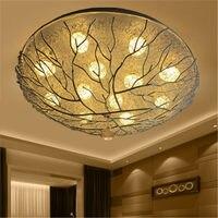 アートデコクリエイティブ鳥の巣の天井ランプのための子供の寝室の台所高級リビングルームの照明階段 led 天井照明器具 シーリングライト    -