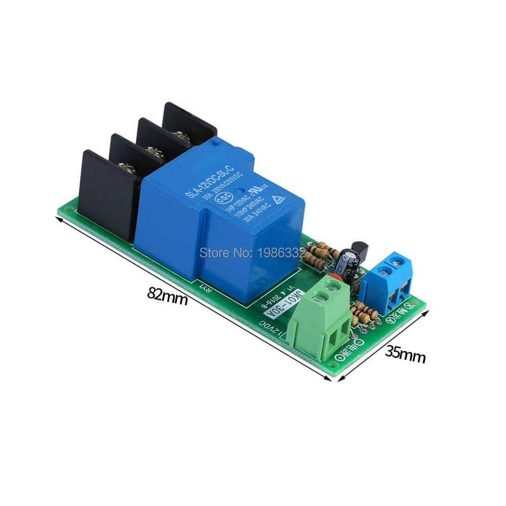 Ws16 Dc 12v 30a Multifunction Adjustable Delay Timing Turn On Off The Polarity Control Relay Is Switched When Q1 Covered By Optocouple Module Mcu Time Timer Switch 1s1 Hours In Relays From Home