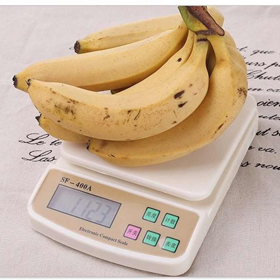 Mini Digital Electronic scales Pocket 10Kg/1g Kitchen Weighing Scale LCD Display Backlight Scales kitchen foods cale