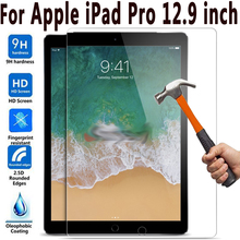 2PCS 9H HD Tempered Glass Screen Protector for Apple iPad Pro 12.9 Glass for iPad Pro 12.9 2015 2017 2018 A1670 A1671