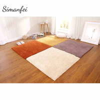 Simanfei Silky Carpet 2017 New Floor Mats Sofa Bedroom Living Room Anti Slip Floor Carpets Bedroom