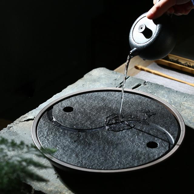 Yin Yang Tea Tray