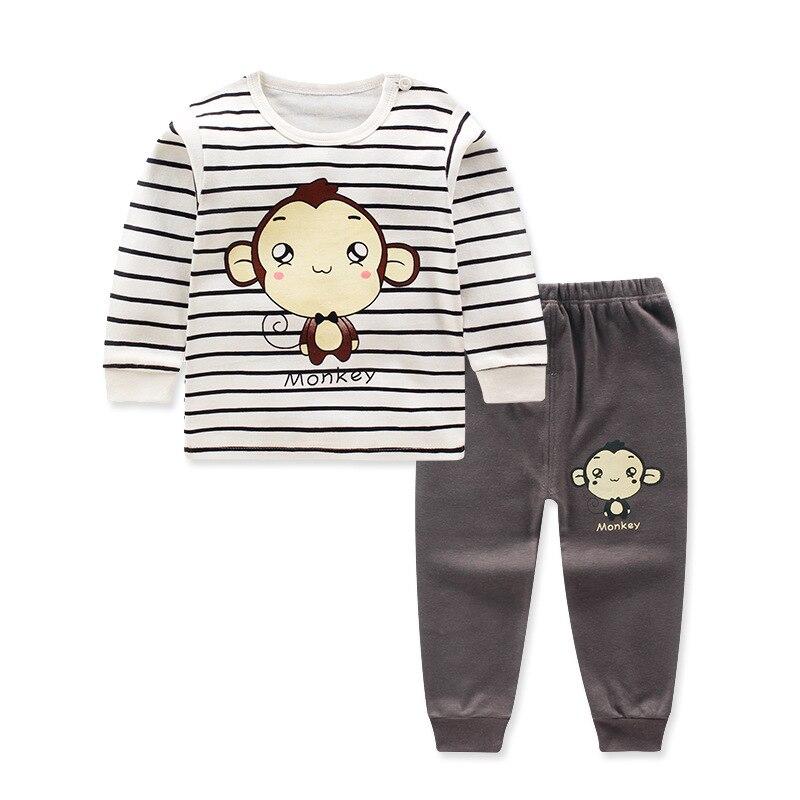 2018 pullover Cartoon Baby Boys Clothes Cotton Babys Sets GX2856-2977