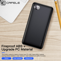 CAFELE 20000mAh Power Bank Portable Charging Powerbank for iPhone Micro Type C Input Mobil Phone Power banks For Huawei Samsung