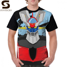 Mazinger T Shirt Z T-Shirt Short Sleeves 100 Polyester Tee Graphic Classic Plus size Mens Cute Tshirt