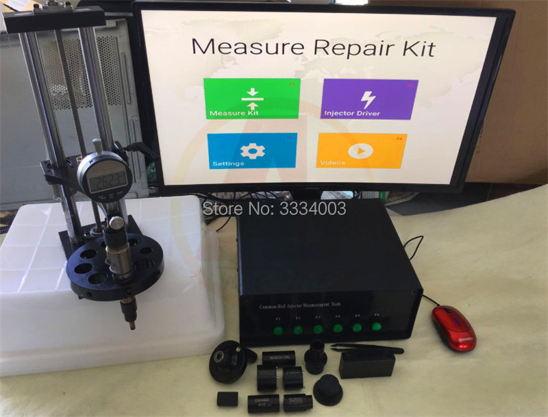 CR3-B Common Rail Injector nozzle valve stroke measuring system for BOSCCH CRIN1 CRIN2 DENSSO AH2 , common rail test bench