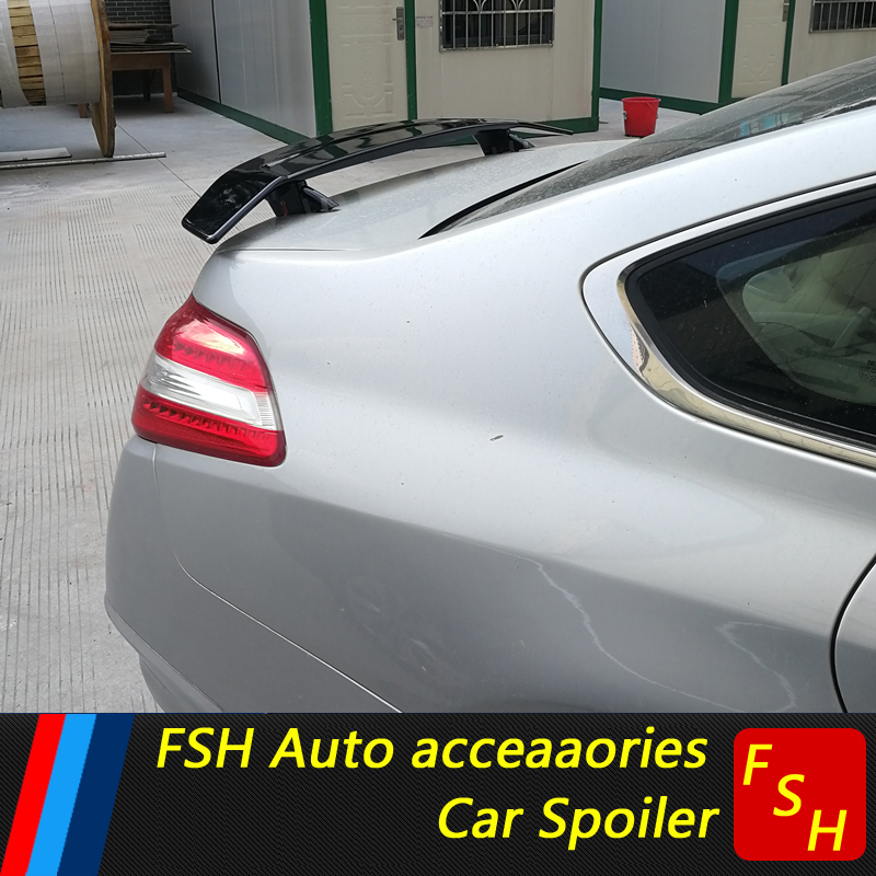 For Acura TLX Spoiler High Quality ABS Material Car Rear