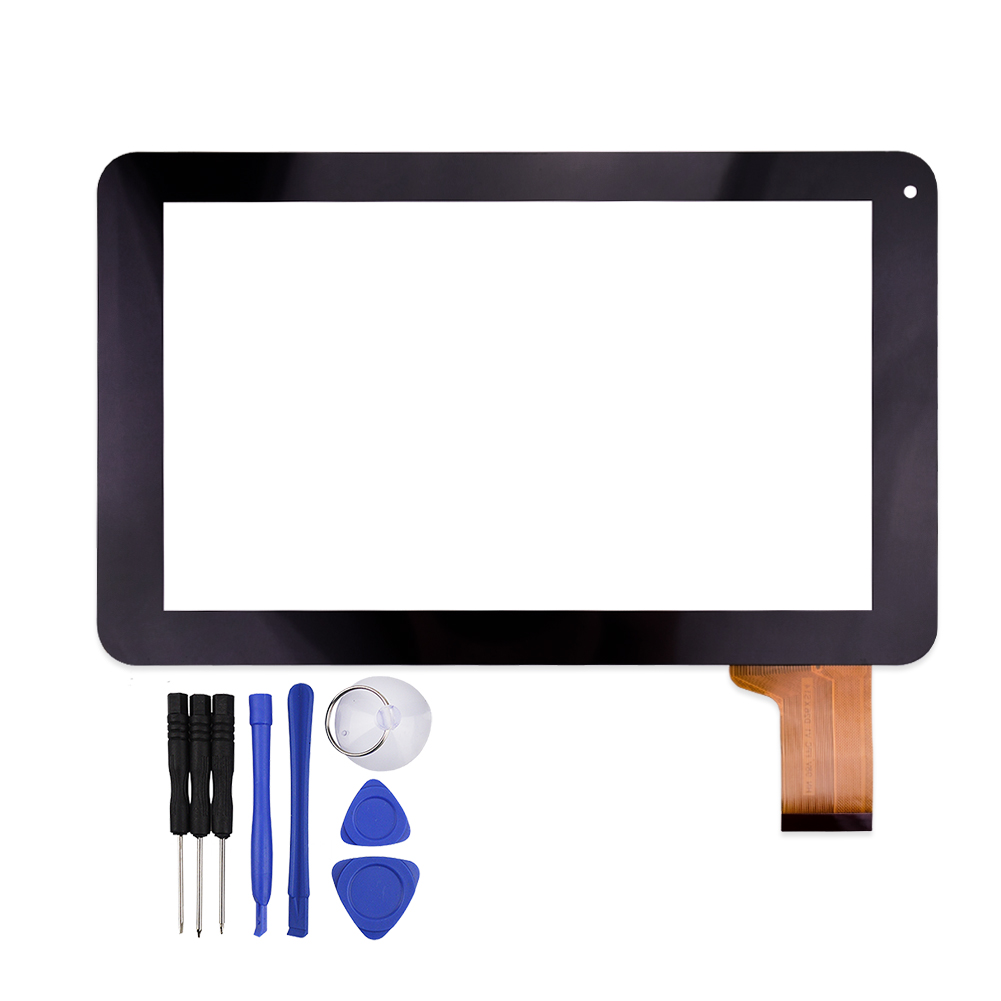 9 Inch Black Capacitive Touch Screen for FPC-LZ1016090 V00 Tablet Panel Digitizer Glass Replacement Free Shipping new replacement capacitive touch screen digitizer panel sensor for 10 1 inch tablet vtcp101a79 fpc 1 0 free shipping