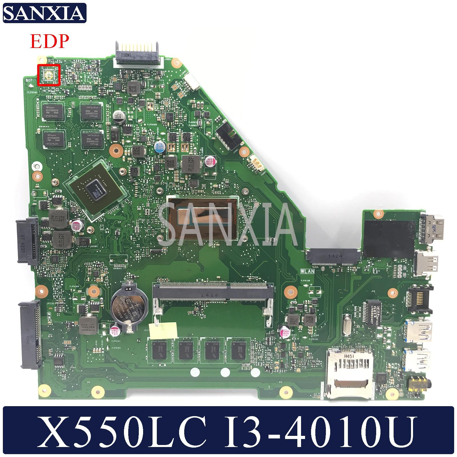 KEFU X550LC Laptop Motherboard For ASUS VivoBook X550LC X550LD X550LN Original Mainboard 4GB-RAM I3-4010U GT720M