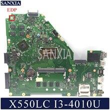 KEFU X550LC Laptop motherboard for ASUS VivoBook X550LC X550LD X550LN original mainboard 4GB RAM I3 4010U