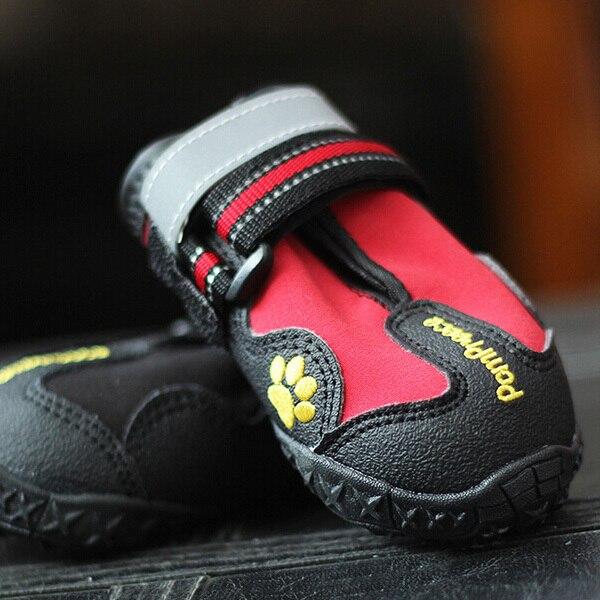 23a7d2810 QY لباس للكلاب الحيوانات الأليفة جرو أحذية حيوانات أليفة شعبية تصميم جديد  في الهواء الطلق أحذية رياضية حماية لا تؤذي للماء أحذية كلاب XS-4XL