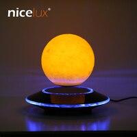 3D Levitation Moon Lamp Magnetic Floating LED Night Light Levitating Toy Gift Wireless Power Supply Creative