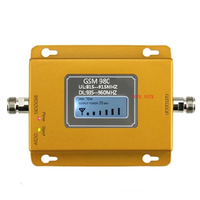 GSM signal repeater GSM signal booster 20dbm LCD display cell phone signal booster amplifier