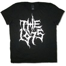 The 1975 Metal Logo Black T Shirt New Official Adult Clothin