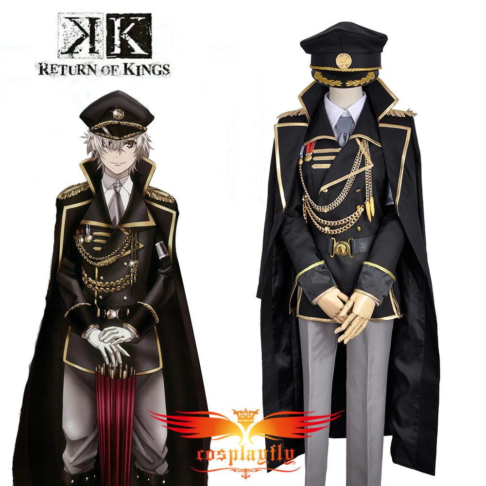 K Anime Return Of Kings Isana Yashiro Military Uniform Outfit Cosplay Costume Custom  Adult Men Outfit Clothing Halloween W0839
