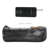 Battery Hand Grip Vertical Shutter For Nikon D300 D300S D700 DSLR Camera IR Remote Control Replace