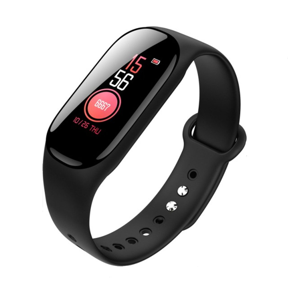Intelligent Color Screen E40 Bracelet Measuring Heart Rate Pedometer Waterproof Wear-resistant Sports Watch for Android iOSIntelligent Color Screen E40 Bracelet Measuring Heart Rate Pedometer Waterproof Wear-resistant Sports Watch for Android iOS