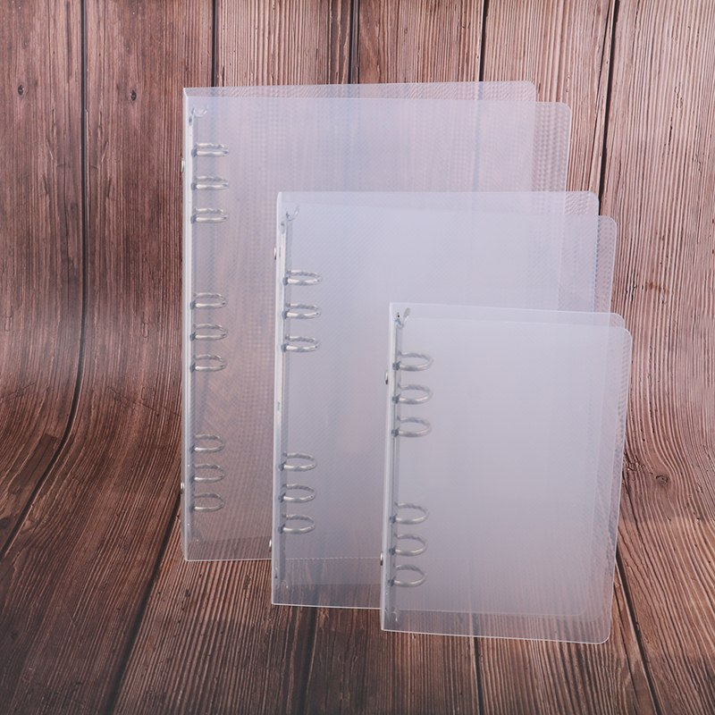 6 Holes Creative Transparent Ring Binder B5/a567 Pp