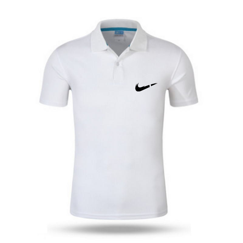 Men Summer Polo Shirt 2019 Brand Men's Fashion Printing Short Sleeve Quick-drying Polo Shirts Male Solid Breathable Tops Tee